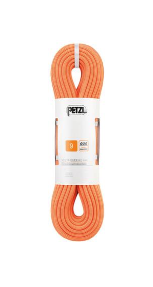 Petzl Volta Guide klimtouw 9,0 mm x 60 m oranje